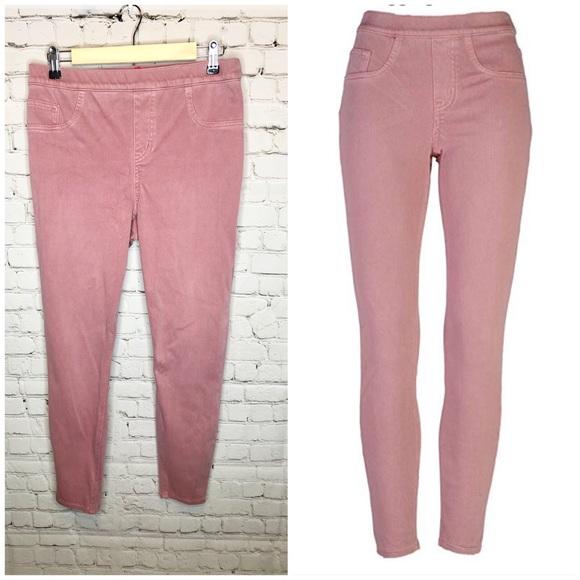 SPANX Pants - SPANX Jean-ish Ankle Leggings Rose Blush